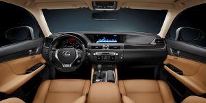 13 Lexus GS-350 - interior front