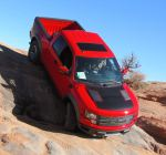 13 Ford F-150 Raptor - downhill