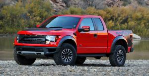 13 Ford F-150 Raptor - front profile